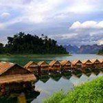 Khao Sok floating house