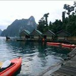 Khao Sok raft house