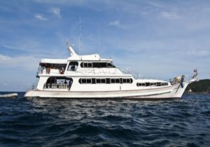 MV Pawara Similan islands to Richelieu Rock | 4 Days 4 Nights | 14 Dives