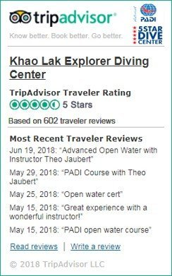Khao Lak Liveaboards Reviews