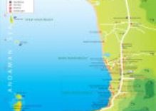 Khao Lak Map | Map of Khao Lak Area