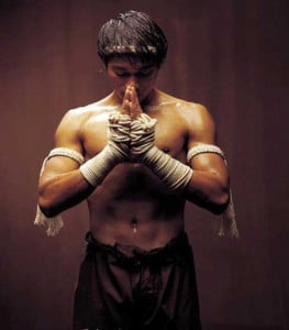 muay thai- fighter