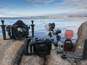 type of underwater camera