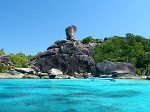 similan islands rock formation