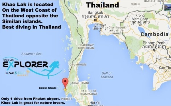 Where is Khao Lak Khao Lak location in Thailand