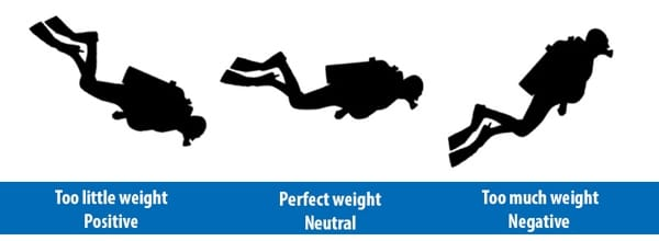 perfect weight scuba