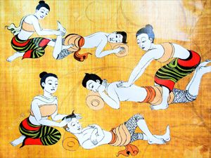 The traditional Thai Massage