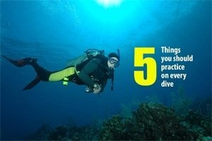 scuba diving kick techniques