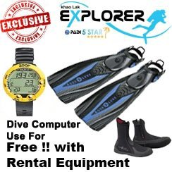 liveaboard Dive gear rental